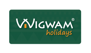 Wigwam Holidays Logo - Without Drop Shadow (for use on white background)
